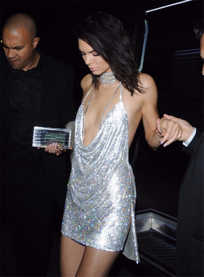 Kendall & Paris Metallic Dress - Limited Stock - Awesome World - Online Store  - 8