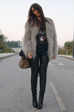 Faux Fur Jacket - 4 Colours - Awesome World - Online Store  - 9