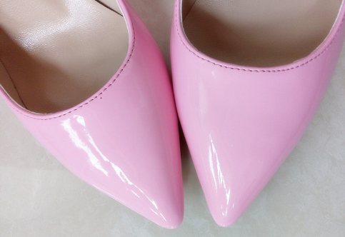 Shiny Pink Stiletto - 3 Heel Sizes - Awesome World - Online Store  - 4