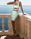 Cut Out Strappy Bandage Dress - 3 colors - Awesome World - Online Store  - 2