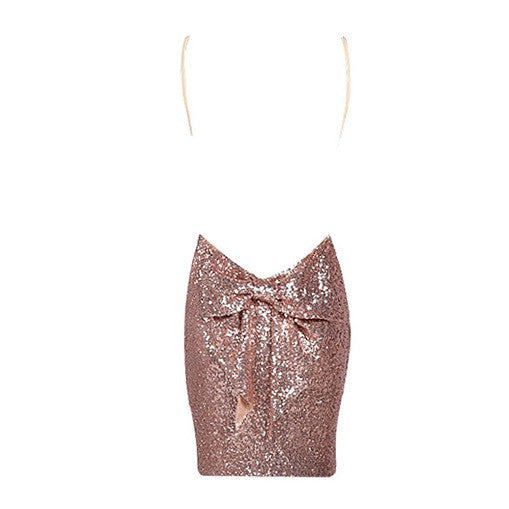 Bow Sequined Dress - Choose Maxi or Mini - Limited Edition - Awesome World - Online Store  - 5
