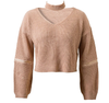 Knitted Sweater+Choker - 4 colors - Awesome World - Online Store  - 8