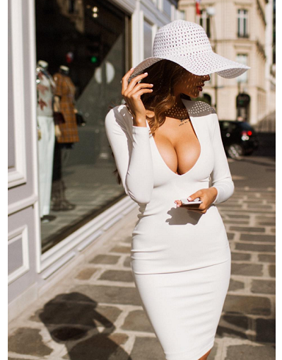 Viki Bodycon Dress - Awesome World - Online Store  - 12