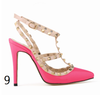 12 cm Heel Bright Rivets Pumps - 10 colors - Awesome World - Online Store  - 13