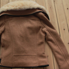 Collar Fleece Coat Jacket - 2 colors - Awesome World - Online Store  - 12