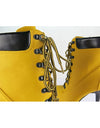 Ankle Yellow Boots - Awesome World - Online Store  - 3