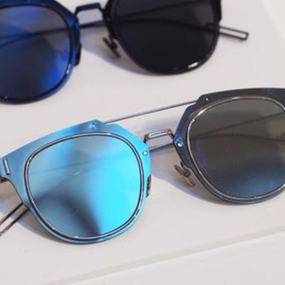 Trendy Mirrored Sunglasses - 5 colors