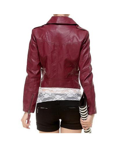 Casual Leather Jacket - Awesome World - Online Store  - 2