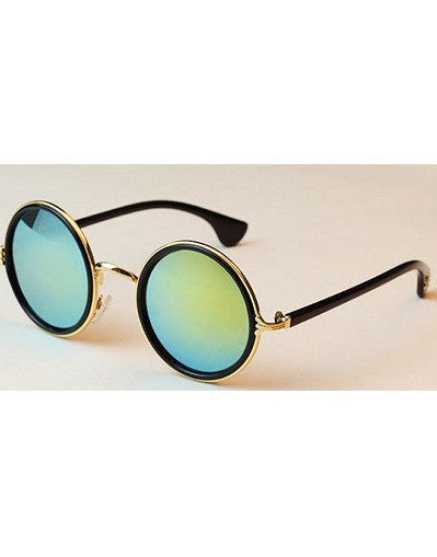 Round Mirrored Sunglasses - 3 colors - Awesome World - Online Store  - 3