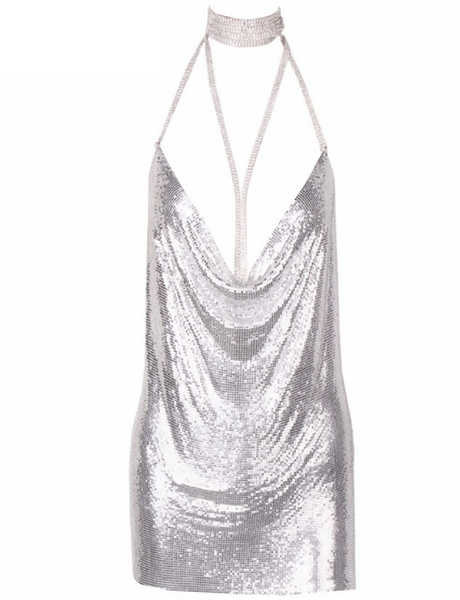 Kendall & Paris Metallic Dress - Limited Stock - Awesome World - Online Store  - 9