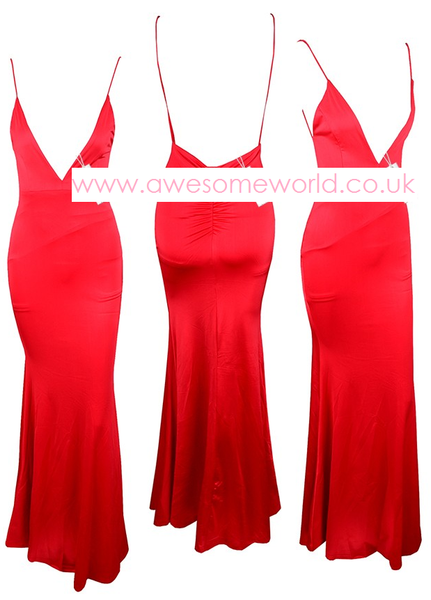All Eyes on You Red Dress - Awesome World - Online Store  - 5