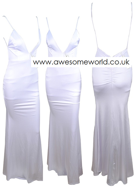 All Eyes on You White Dress - Awesome World - Online Store  - 6