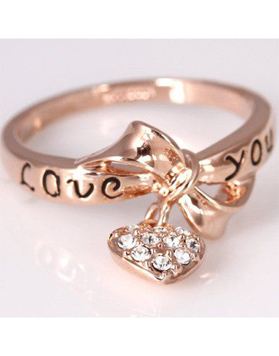 LOVEYOU Cute Ring - Awesome World - Online Store