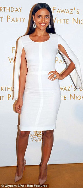 Bandage Irina White Midi Dress - Awesome World - Online Store  - 4