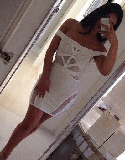 Transparent Bandage Dress - 2 colors - Awesome World - Online Store  - 1