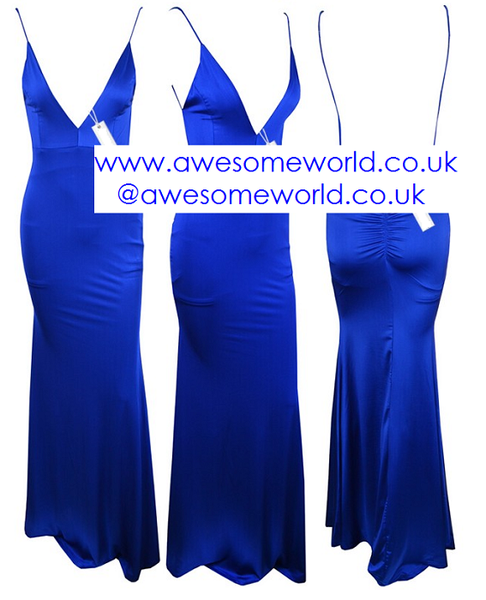 All Eyes on You Blue Dress - Awesome World - Online Store  - 4