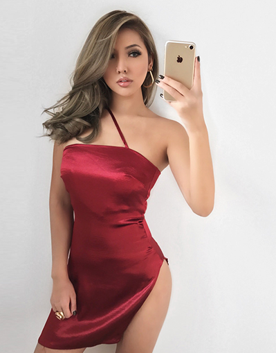 Satin Sensual Dress - 3 Colors
