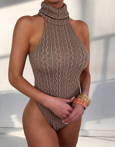 Knitted Bodysuit - 4 Colors