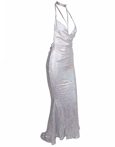 Maxi Paris & Kendall Sequinned Dress - Limited Stock