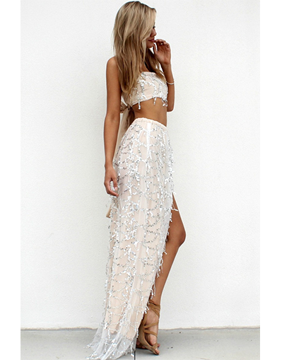 Australian Sequin 2 Piece dress - Awesome World - Online Store  - 2