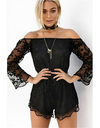 Lace Sleeveless Jumpsuit - Awesome World - Online Store  - 2