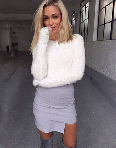 Fluffy Sweater
