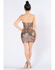 Strapless Sequin Dress - Awesome World - Online Store  - 2
