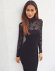 Long Sleeve Lace Dress - Awesome World - Online Store  - 1