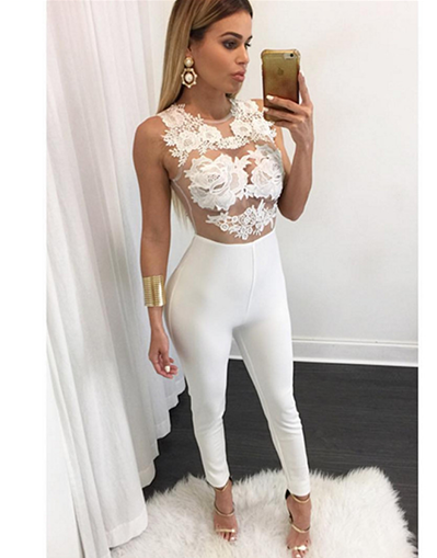 Lace top Jumpsuit - Awesome World - Online Store  - 2