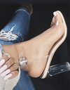 Clear Heel Shoes - Awesome World - Online Store  - 1