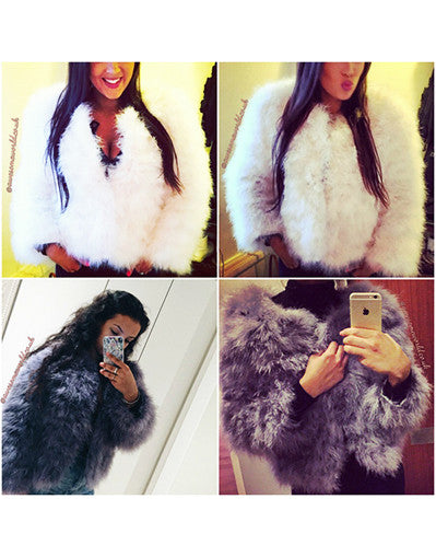 Glam Fur Coat - 10 colors - Awesome World - Online Store  - 8