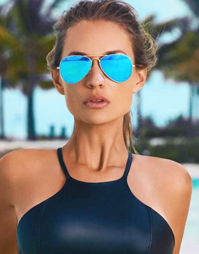 Mirrored Aviators Sunglasses - 7 Colors - Awesome World - Online Store  - 16