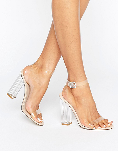 Clear Heel Shoes - Awesome World - Online Store  - 2