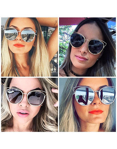 Frame Style Fashion Women Sunglasses - 7 Colors - Awesome World - Online Store  - 2