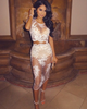 Celebrity White Lace Set - Awesome World - Online Store  - 5