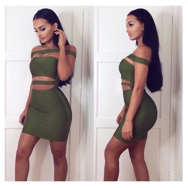 Kylie Bandage Dress - 5 colors - Awesome World - Online Store  - 15