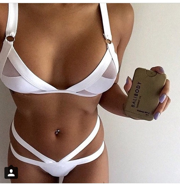 Sensual Hollow Out Bikini - Awesome World - Online Store  - 7