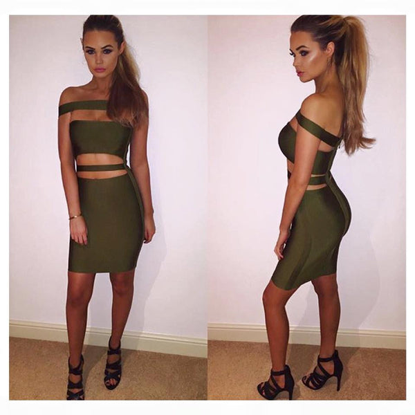 Kylie Bandage Dress - 5 colors - Awesome World - Online Store  - 16