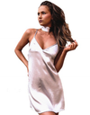 Satin Choker Dress - Awesome World - Online Store  - 2