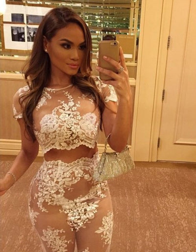 Celebrity White Lace Set - Awesome World - Online Store  - 9