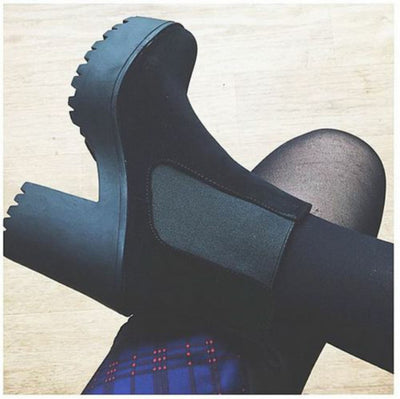 Platform Ankle Boots - 4 colors - Awesome World - Online Store  - 8