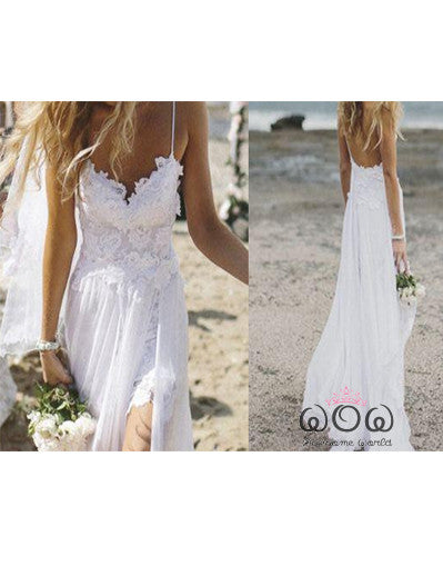 Beach Style Evening Dress - Awesome World - Online Store  - 1