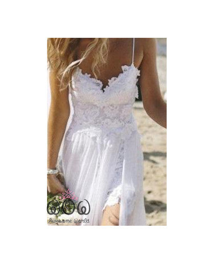Beach Style Evening Dress - Awesome World - Online Store  - 3