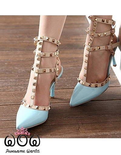 Blogger Style Pumps 8CM - 10 Colours - Awesome World - Online Store  - 18