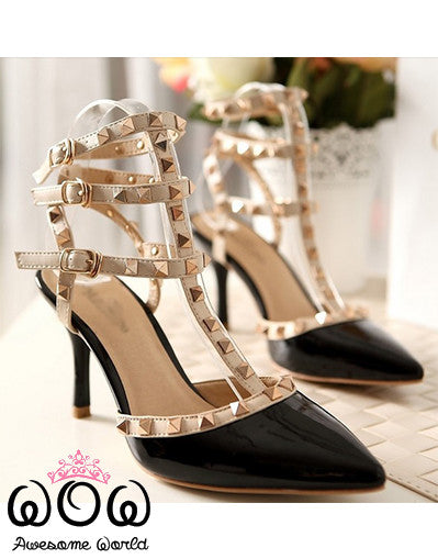 Blogger Style Pumps 8CM - 10 Colours - Awesome World - Online Store  - 17