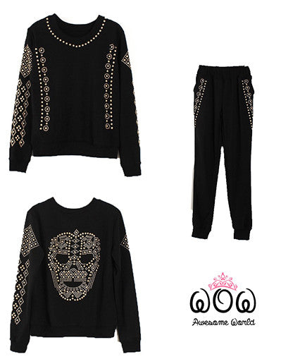 Skull Black&White Set - Awesome World - Online Store  - 1