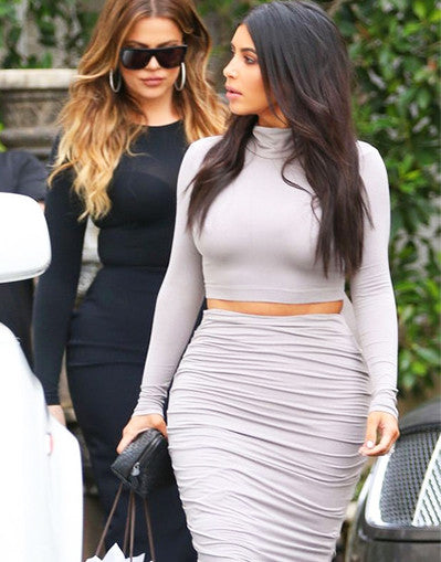 Kim K's Grey Set - Awesome World - Online Store  - 3