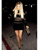 Khloe Velvet Black Dress - Awesome World - Online Store  - 2