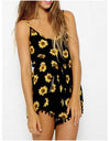 Black Floral Jumpsuit - Awesome World - Online Store  - 1