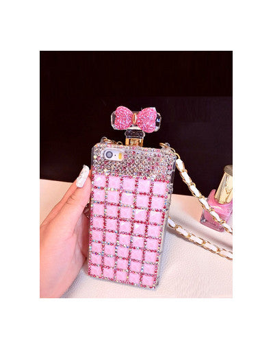 Rhinestone Bow Case iPhone - Awesome World - Online Store  - 2